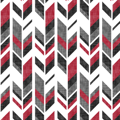 feather // the happy camper collection fabric by littlearrowdesign on Spoonflower - custom fabric