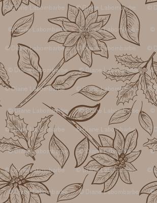 Vintage Poinsettias -04