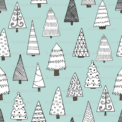 christmas trees // christmas tree forest xmas holiday winter christmas forest tree andrea lauren