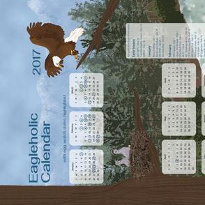 Eagleholic Calendar 2017