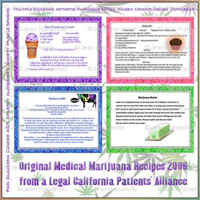 Medical Cannabis Recipes 12x12
