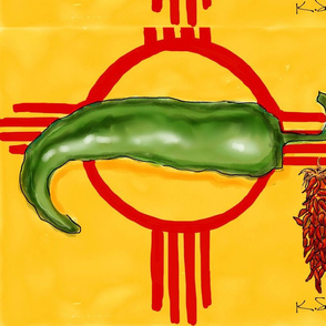 Hatch NM Flag by KSchowe