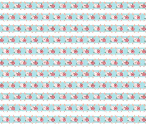 BlueStripe fabric by mrs_tomlin on Spoonflower - custom fabric