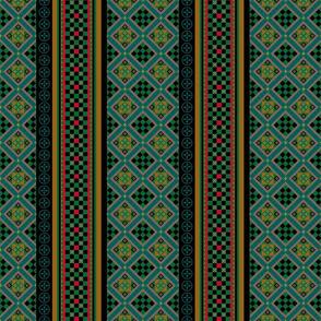 floor tiles_green