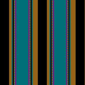 floor tiles stripes_blue