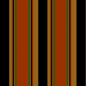 floor tiles stripes_rust