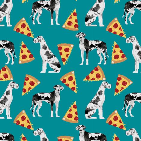 great dane pizza fabric cute dogs fabrics best dog design pizzas designs cute dogs fabric great danes fabric by petfriendly on Spoonflower - custom fabric