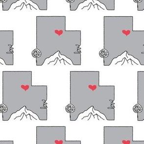 Love Utah | Grey