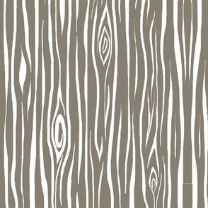 woodgrain small- dark taupe and white-