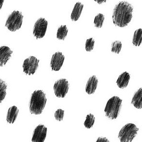 Black and white dots