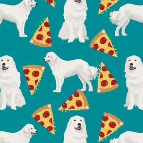 great pyrenees dogs fabric cute dog design best pizza fabrics cute pizza dogs fabric best dogs