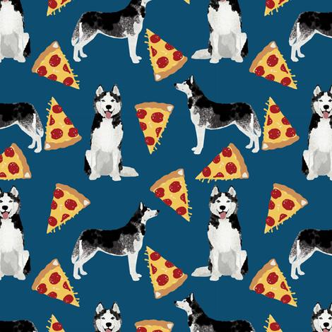 husky pizza fabric cute pizza dog design best dogs fabric cute pizza fabric best dogs fabric by petfriendly on Spoonflower - custom fabric