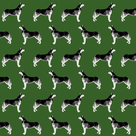 husky fabric cute huskies fabric best dog fabrics cute dogs fabric by petfriendly on Spoonflower - custom fabric