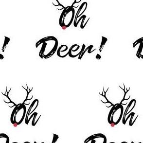 """Oh Deer! 4"""""""