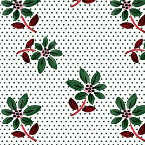 Winter Green Fun Floral