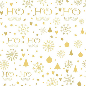 Golden Ho Ho Ho pattern