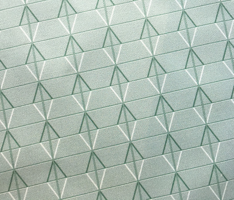 Plaza* (Camouflage) || midcentury modern monotone wall breeze block texture geometric diamond triangle