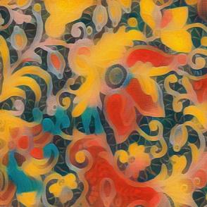 Gauguin Floral