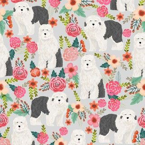 old english sheepdog florals cute sheepdog designs best english sheepdog fabrics cute old english sheepdogs fabrics