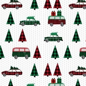 christmas plaid trees on cars christmas plaids trees christmas plaid christmas trees
