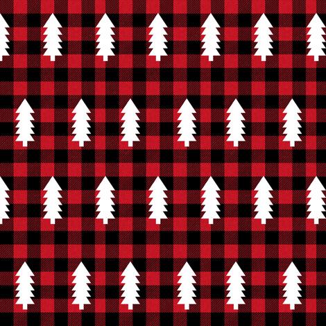 Buffalo Plaid Trees Evergreen Fir Tree Christmas Trees