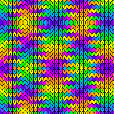 Stained Glass Rainbow 02 fabric by anneostroff on Spoonflower - custom fabric