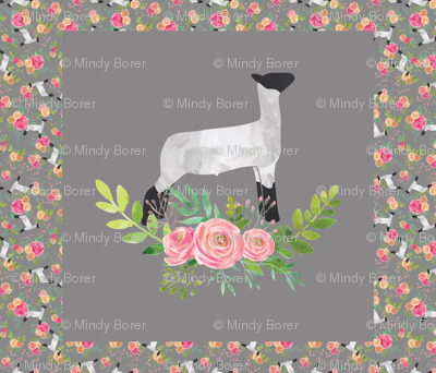 30 x 30 Lamb Panel