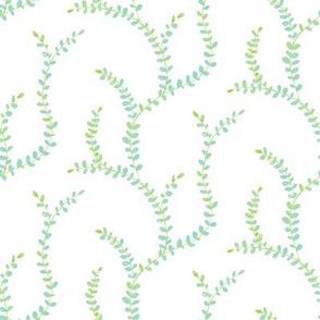 Sweet Vine - Turquoise