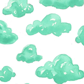 Blue Clouds Wallpaper