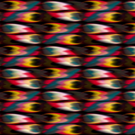 Heart Burnish fabric by david_kent_collections on Spoonflower - custom fabric