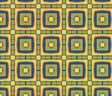 Radial Love fabric by tesoro+perdido on Spoonflower - custom fabric