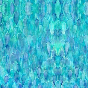 Watercolor Water Kaleidoscope