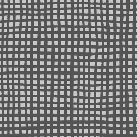 Ugly Grid - Greys fabric by jesseesuem on Spoonflower - custom fabric