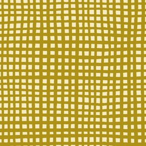 Ugly Grid - Mustard