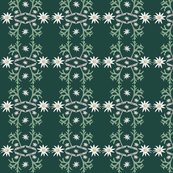 2941 Flannel_Flower#2 -Green_Sea