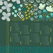 2018 Garden Calendar by Friztin