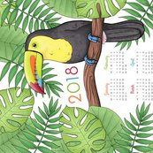 Rtoucan_tea_towel_calendar_2018_hazel_fisher_creations_shop_thumb