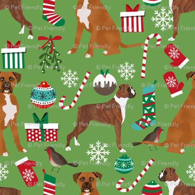 boxer dog christmas fabric cute xmas holiday christmas fabrics best xmas holiday dogs