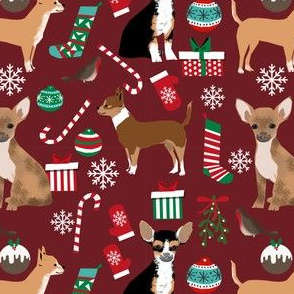 chihuahua christmas fabric cute dogs fabrics best chihuahuas dogs fabric cute xmas holiday fabrics