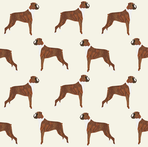 Boxer dog, dogs, boxer, cute dog, pet dogs, boxer fabric for crafts home decor textiles boxer owners accessories must have fabric by petfriendly on Spoonflower - custom fabric