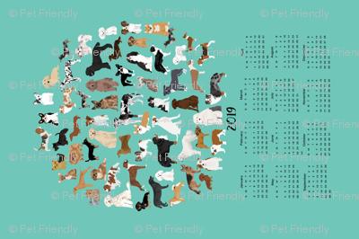 2019 Dog Breed Calendar