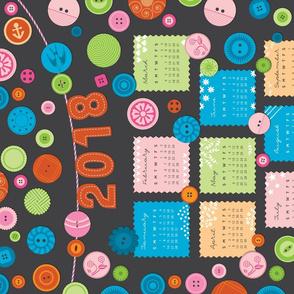 Button Button Calendar 2018