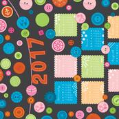 Button Button Calendar 2017