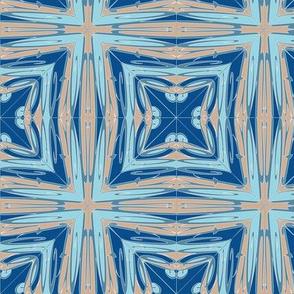Radial Devotion Blue