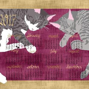 2017 Cat Calendar