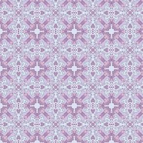 Diamond Flourish. Violets