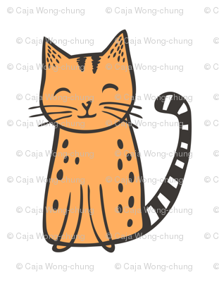 Cats Pillow Plush Plushie Softie Cut & Sew