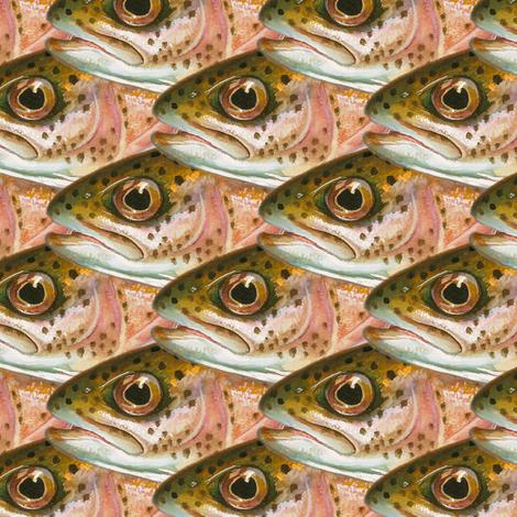 Fish (head) scales fabric by weavingmajor on Spoonflower - custom fabric