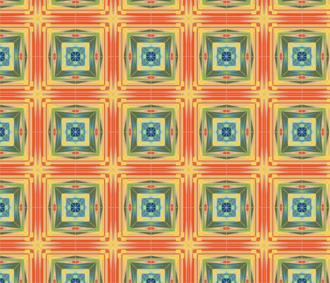 Radial Humanity fabric by tesoro+perdido on Spoonflower - custom fabric