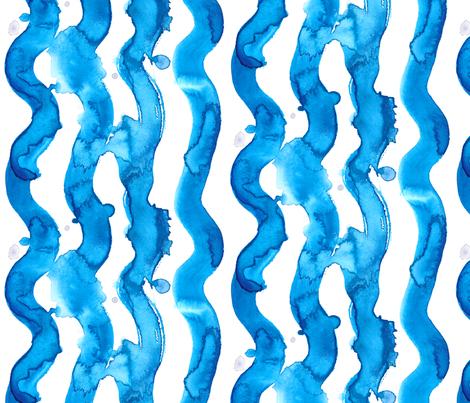Wave fabric by utopiamatter on Spoonflower - custom fabric